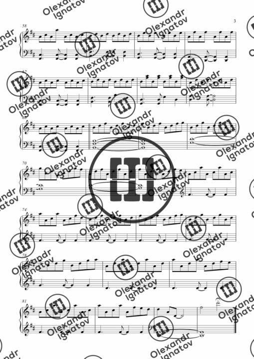 Olexandr Ignatov – Emotions (Sheet Music)