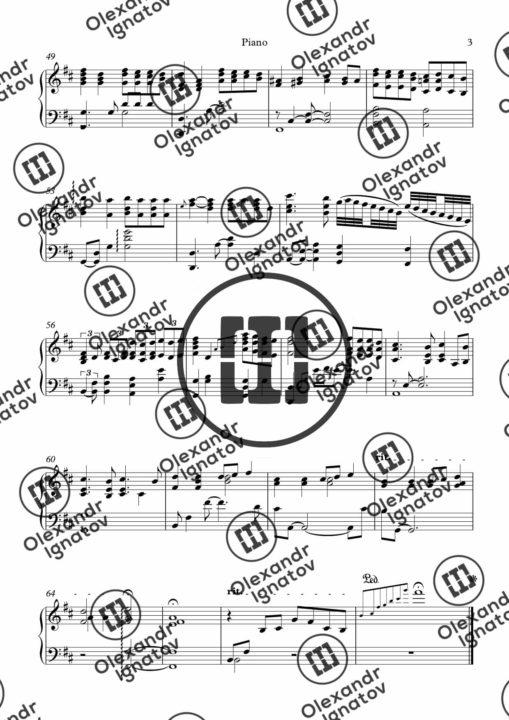Sixx:A.M. – Skin (Sheet Music)