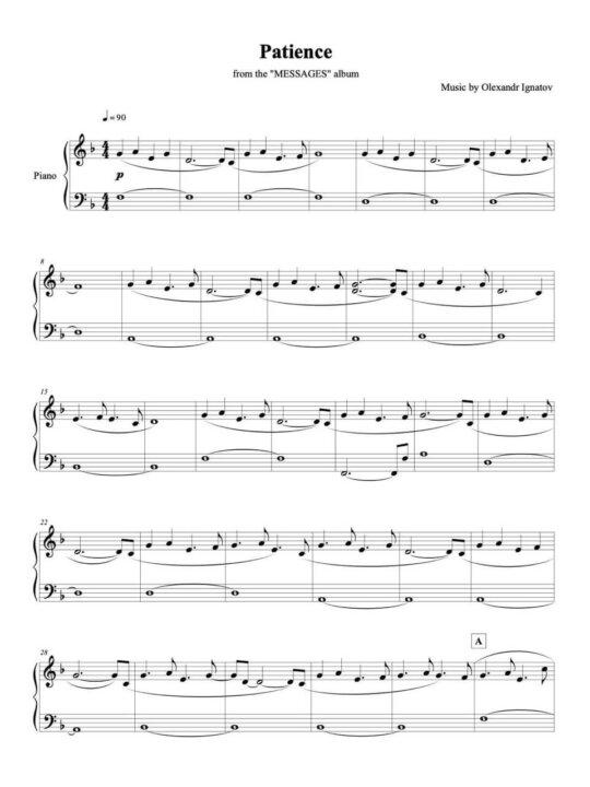 "Olexandr Ignatov – ""Messages"" Piano Transcription E-book"