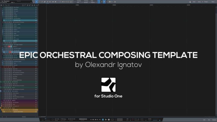 Epic Orchestral Template (Studio One)